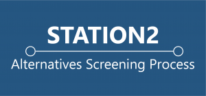 Station 2 Button - Alternatives Screening Process