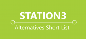 Station 3 Button - Alternatives Short List
